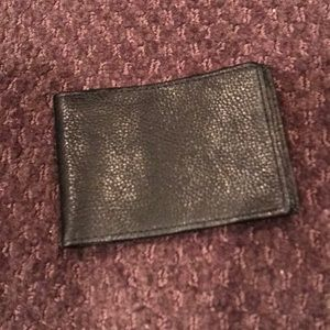 EUC Small Perry Ellis leather wallet card holder
